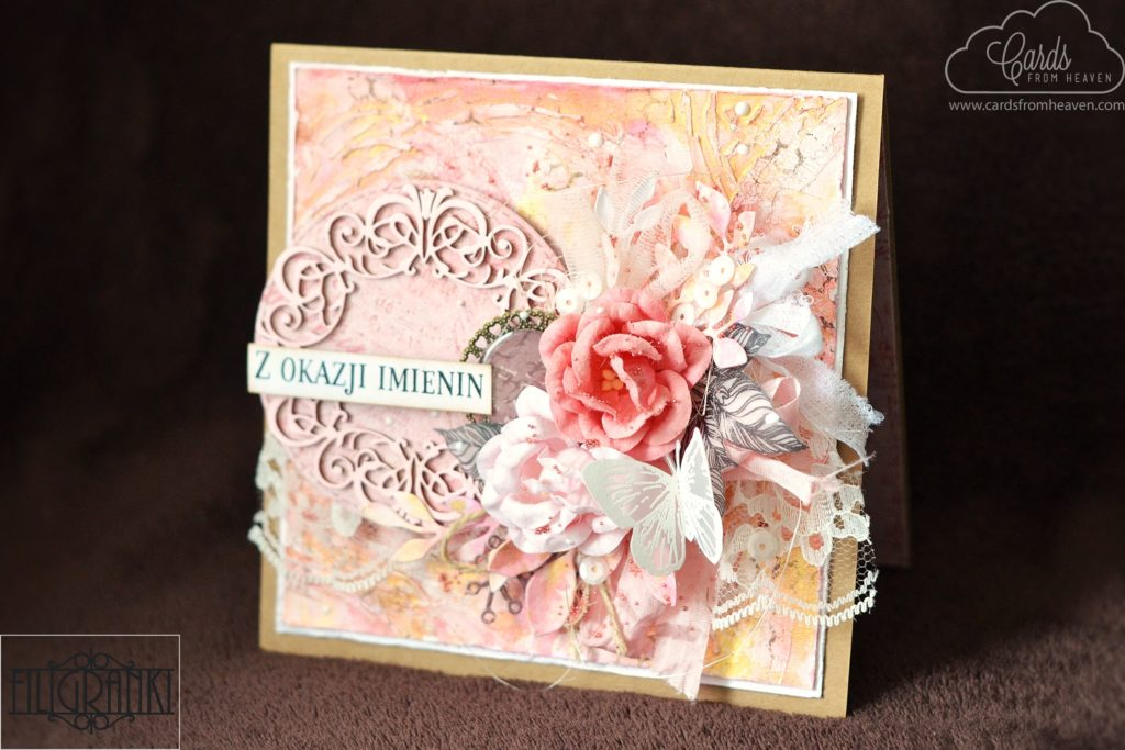 Hi Today Specially For The Filigranki I Made A Cardmaking Video Here Have Some Photos Of My Project